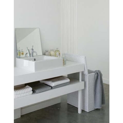 Coffre Vincent Sheppard Kubo white wash-03