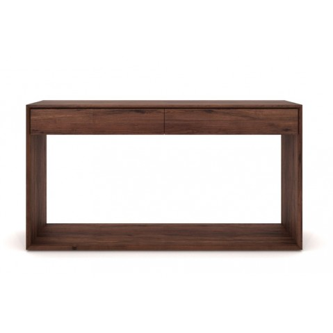 Console NORDIC NOYER d'Ethnicraft, 120x40x85