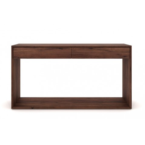 Console NORDIC NOYER d'Ethnicraft, 160x40x85