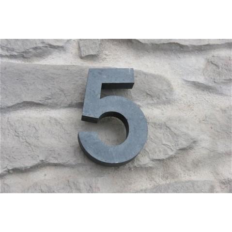 Contour HOUSE SIGN Chiffre 5