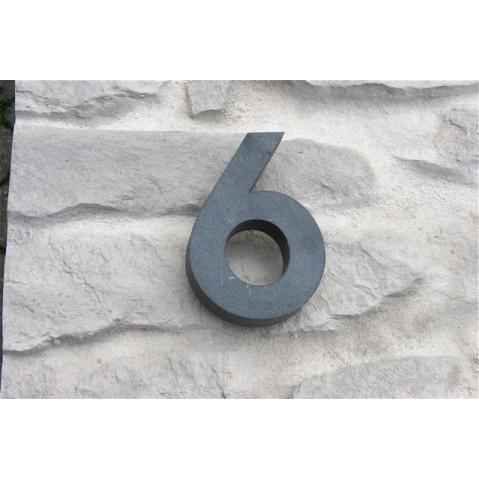 Contour HOUSE SIGN Chiffre 6