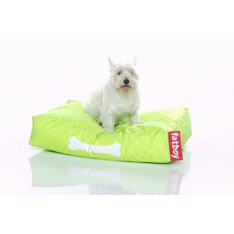 Coussin pour chien DOGGIELOUNGE de Fatboy petit modèle, vert lime