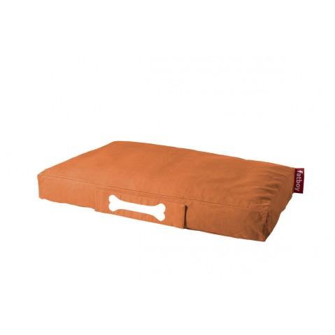 Coussin pour chien DOGGIELOUNGE STONEWASHED de Fatboy grand modèle, orange