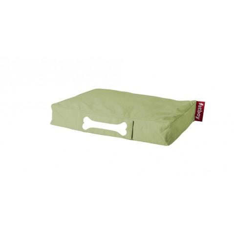 Coussin pour chien DOGGIELOUNGE STONEWASHED de Fatboy petit modèle, lime green