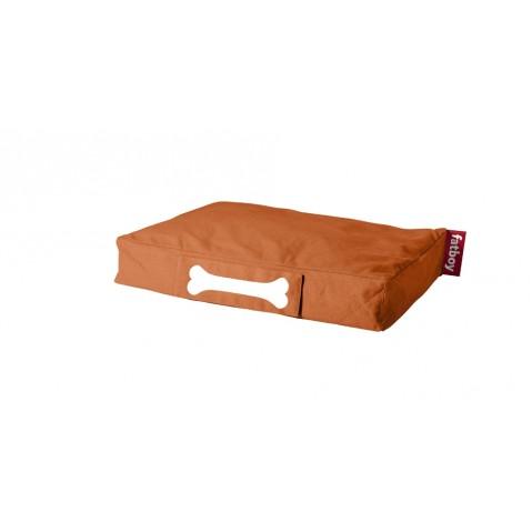 Coussin pour chien DOGGIELOUNGE STONEWASHED de Fatboy petit modèle, orange