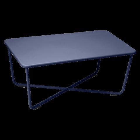 Table basse CROISETTE de Fermob, Bleu abysse