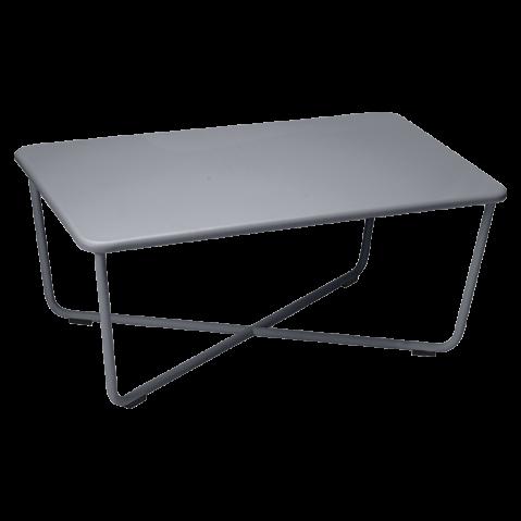 Table basse CROISETTE de Fermob, Carbone
