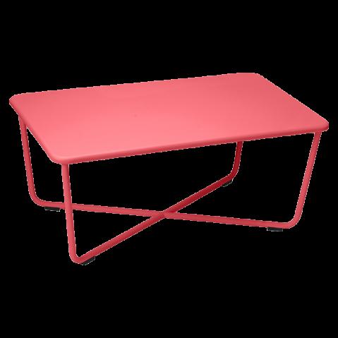 Table basse CROISETTE de Fermob, Coquelicot