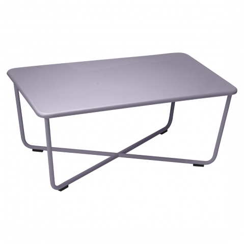 Table basse CROISETTE de Fermob, Prune
