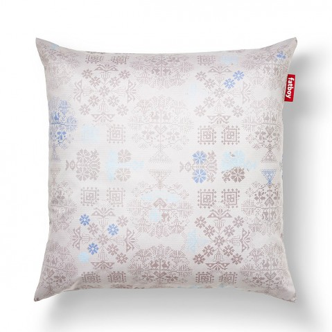 CUSCINO SPECIAL SMALL DOODLE BLUE