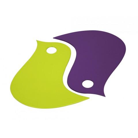 Dessous de plat OISEAUX de Fermob, Verveine/ Aubergine