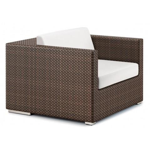 Le fauteuil LOUNGE de Dedon, 2 coloris