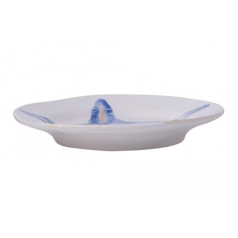 Di Mare Assiette Poisson de Flamant, Bleu