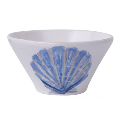 Di Mare Bol Shell de Flamant, Bleu
