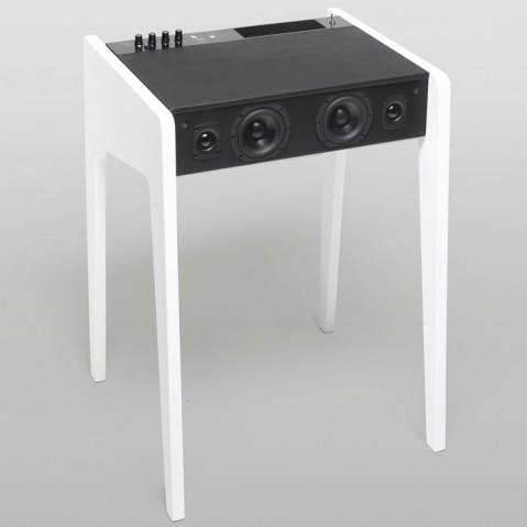 Dock LD120 de la Boîte Concept pour ordinateur portable blanc