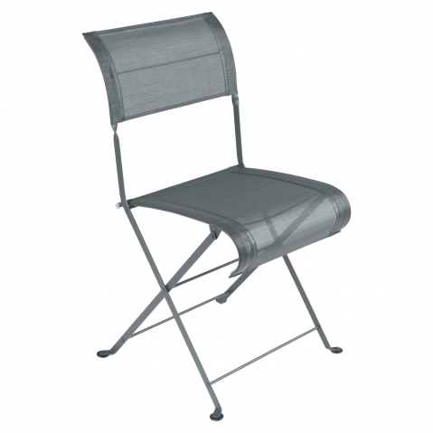 Chaise pliante DUNE de Fermob, Gris orage