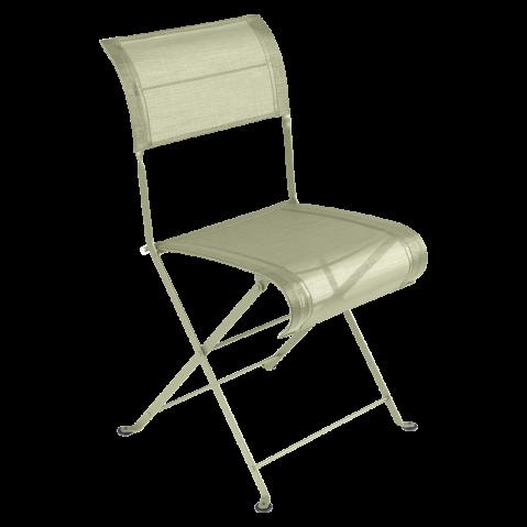 Chaise pliante DUNE de Fermob, Tilleul