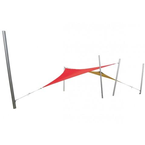 Duo de voiles triangulaires INGENUA de Umbrosa