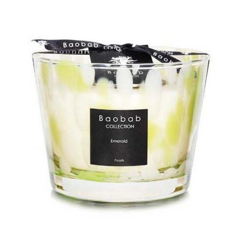 Bougie Emerald PEARLS de Baobab Collection, 5 tailles