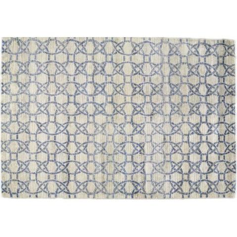Tapis ETERNITY de Toulemonde Bochart, 250 x 350, Gris bleu