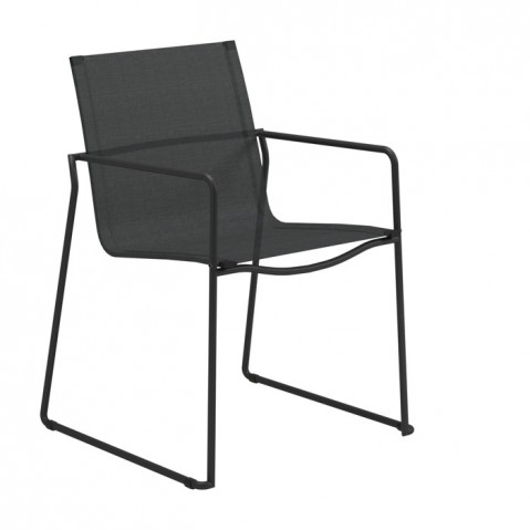 Fauteuil ASTA de Gloster, Meteor/Anthracite