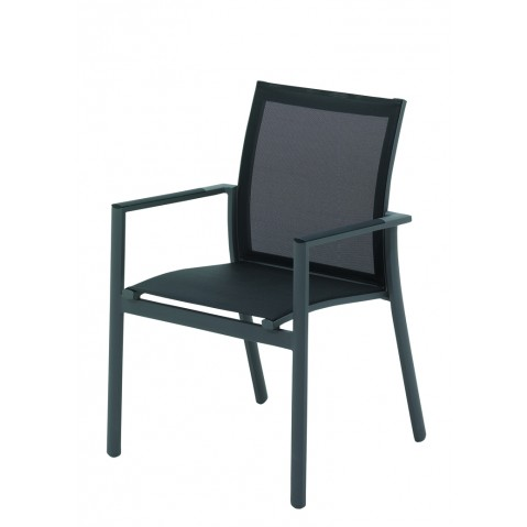 Fauteuil AZORE de Gloster anthracite