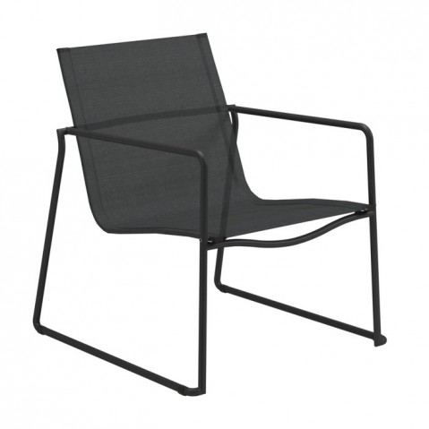 Fauteuil bas ASTA de Gloster, Meteor/Anthracite