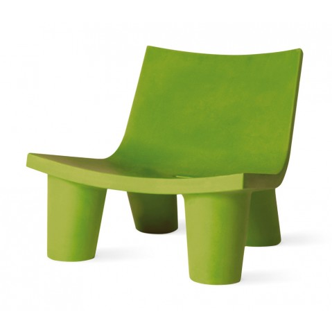 Fauteuil bas LOW LITA de Slide vert