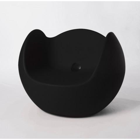 Fauteuil BLOS de Slide noir