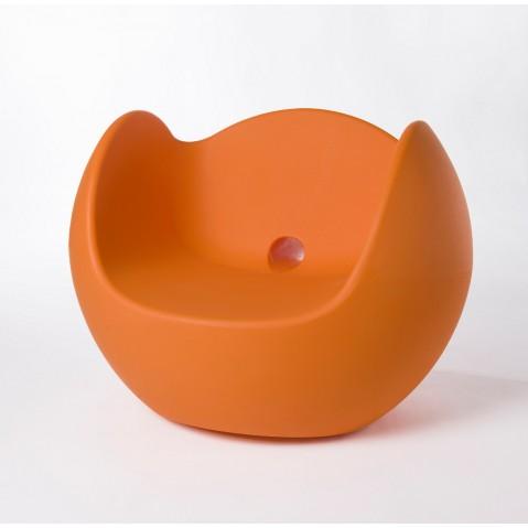Fauteuil BLOS de Slide orange