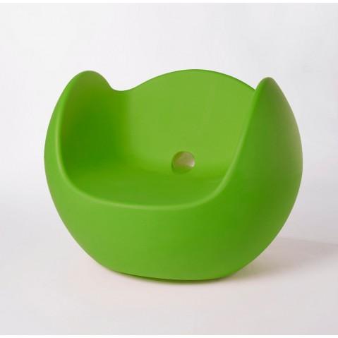 Fauteuil BLOS de Slide vert lime