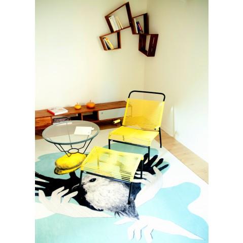fauteuil brazza de boqa vert d 39 eau. Black Bedroom Furniture Sets. Home Design Ideas