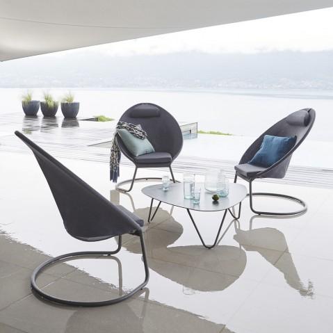 table basse cocoon de lafuma. Black Bedroom Furniture Sets. Home Design Ideas