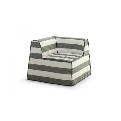 fauteuil de coin inout 407 de gervasoni. Black Bedroom Furniture Sets. Home Design Ideas