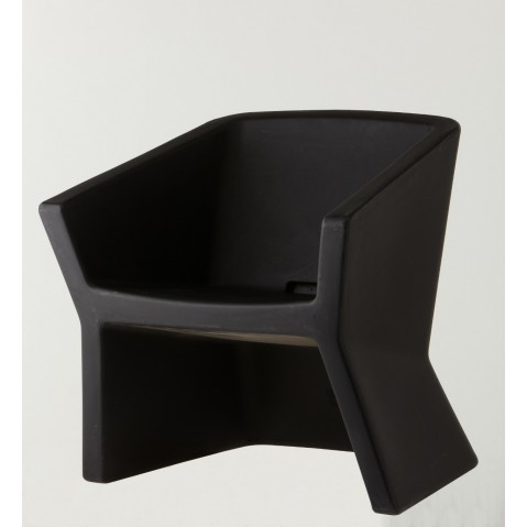 Fauteuil EXOFA de Slide, Noir