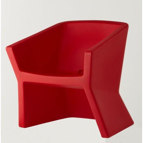 Fauteuil EXOFA de Slide rouge