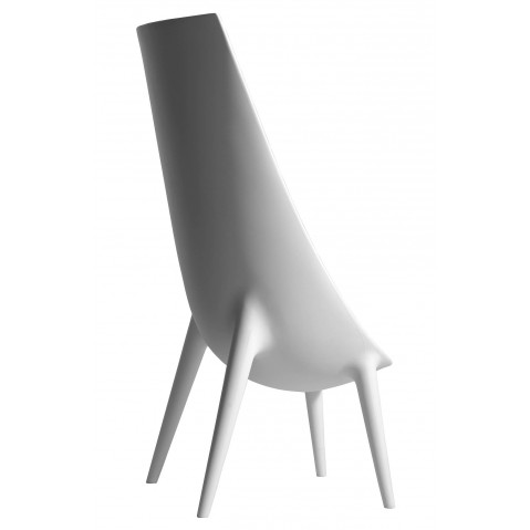 Fauteuil haut OUT/IN de Driade blanc