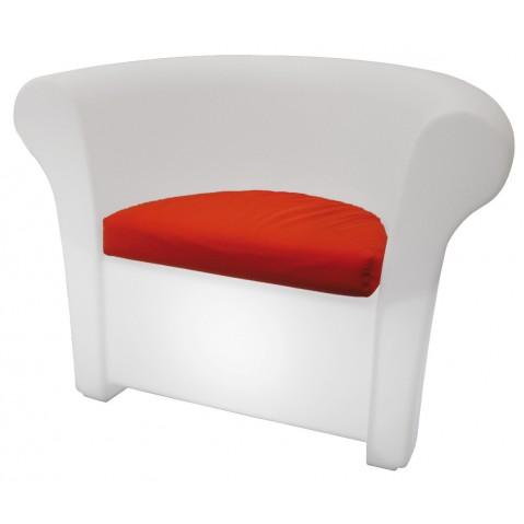 Fauteuil KALLA de Slide blanc lumineux