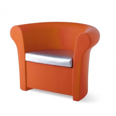 Fauteuil KALLA de Slide orange
