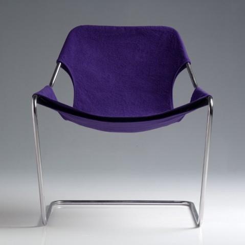 Fauteuil PAULISTANO de Objekto, Purple