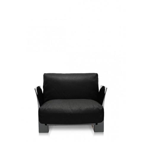Fauteuil POP OUTDOOR de Kartell, Noir, Structure noir