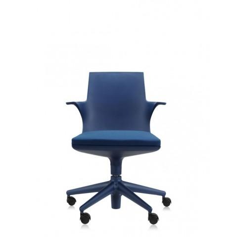 Fauteuil SPOON CHAIR de Kartell, Bleu