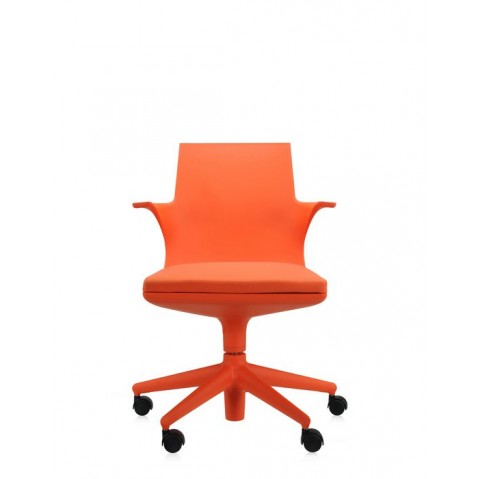 Fauteuil SPOON CHAIR de Kartell, Orange