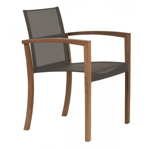 Fauteuil XQI de Royal Botania, marron
