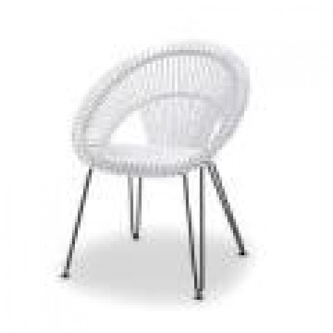 Fauteuils Vincent Sheppard Curly Dining Chair white-02