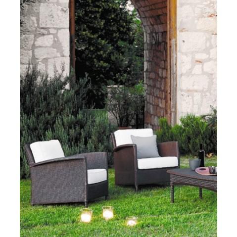 Fauteuils Vincent Sheppard Deauville Lounge Chair dark grey wash-03