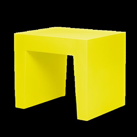 Tabouret CONCRETE SEAT de Fatboy, Dijon yellow