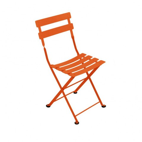 chaise bistro m tal de fermob carotte. Black Bedroom Furniture Sets. Home Design Ideas
