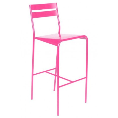 Lot de 2 tabourets de bar FACTO de Fermob fuchsia