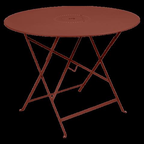 Table pliante FLORÉAL de Fermob D.96 cm, Ocre rouge